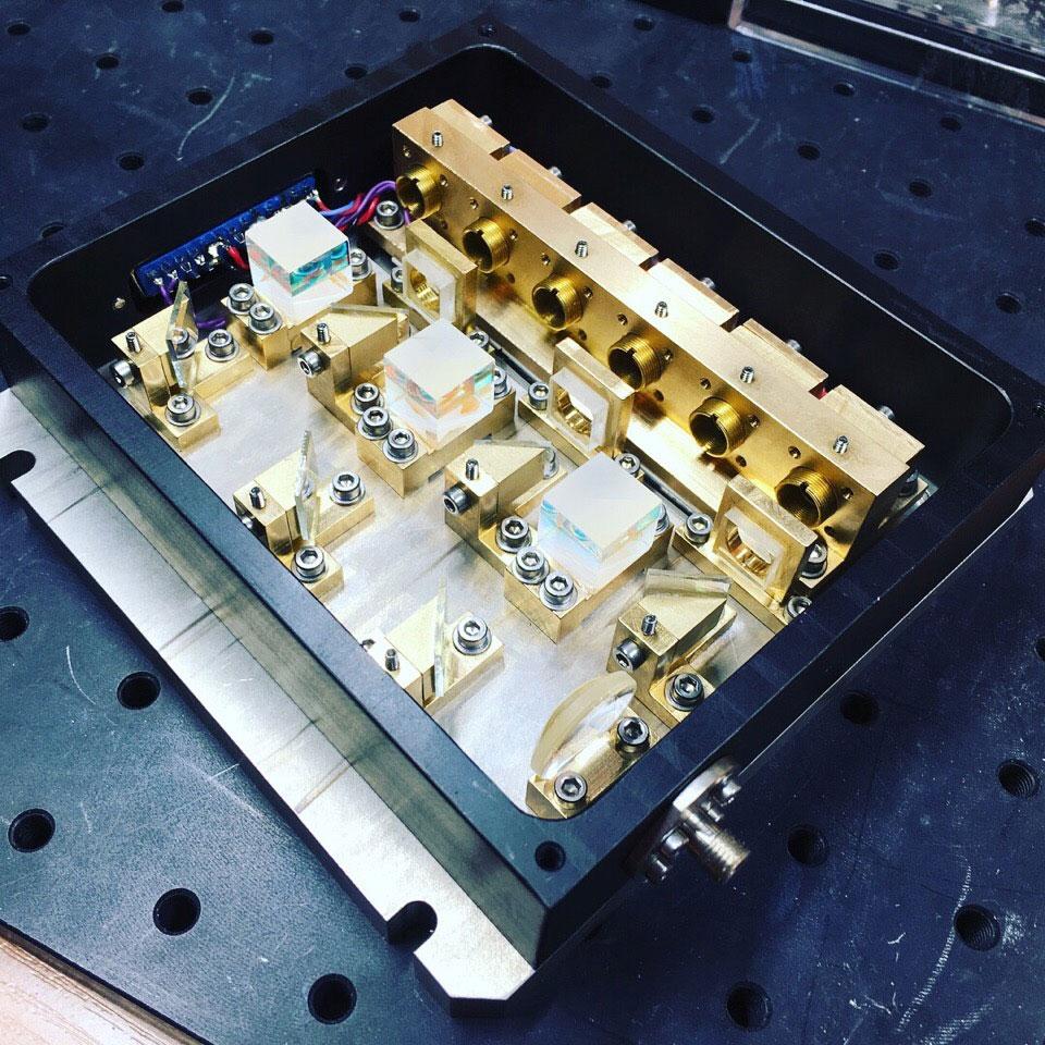 Лазерный модуль RGB