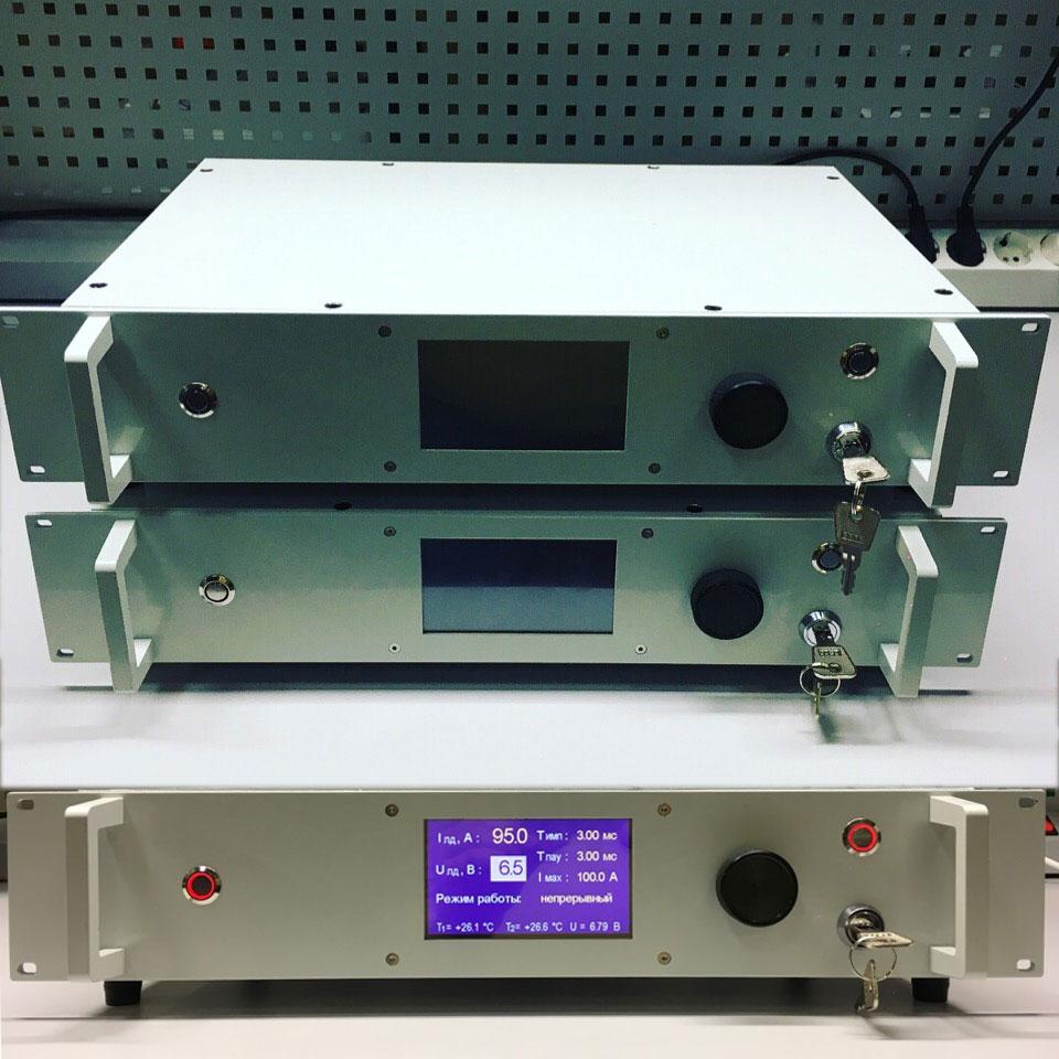 Блок питания лазера LD-100-6CW